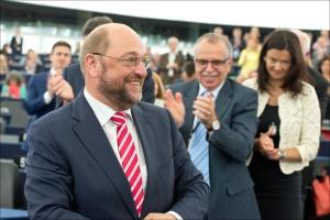 Martin Schulz als Präsident des europäischen Parlaments wiedergewählt © European Union 2014 - European Parliament